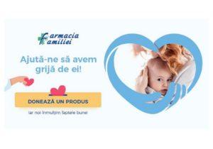 «Помогите нам позаботиться о них!» Farmacia Familiei продолжает помогать семьям при вашей поддержке