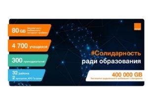 Солидарность во имя Образования – 5000 учащихся и преподавателей пользуются бесплатной связью от Orange Moldova