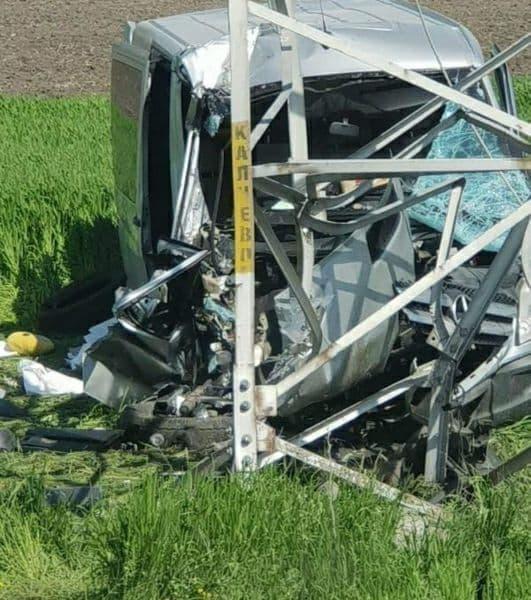 Un microbuz din Găgăuzia, accidentat grav în Bulgaria. Mașina a fost făcută zob (VIDEO)