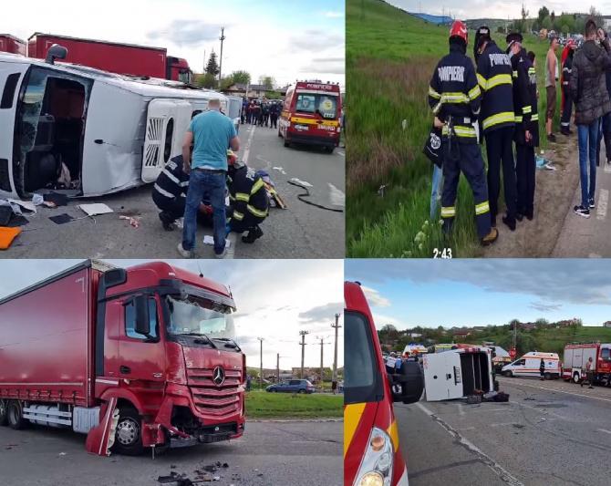 Зарулем фуры, врезавшейся вмикроавтобус вРумынии, находился гражданин Молдовы