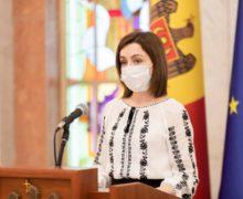 Майя Санду поздравила кишиневцев: «Кишинев — место, объединившее разные языки и культуры»