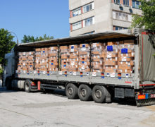 ВМолдову доставили изГермании партию медоборудования исредств защиты для медработников на200 млн леев