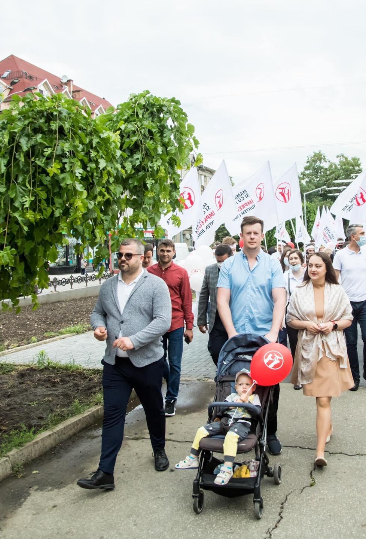 В Кишиневе прошел марш в поддержку традиционной семьи (ВИДЕО/ФОТО)