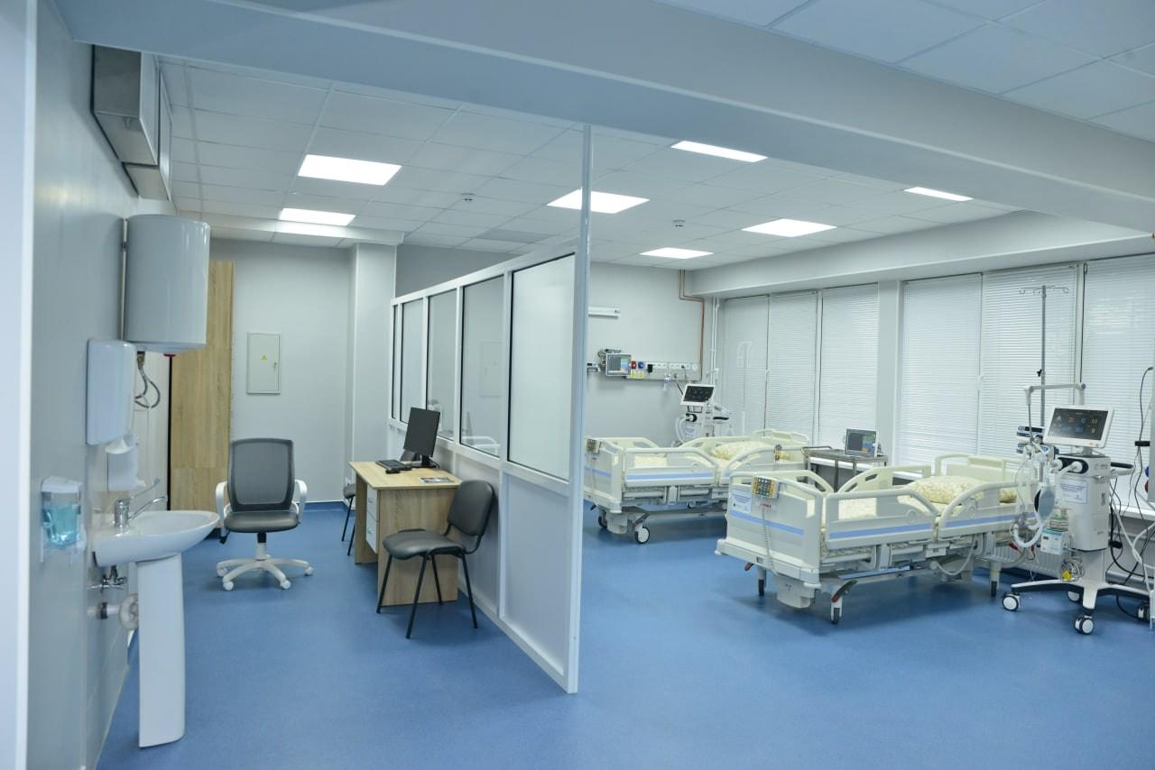 """O nouă secție de terapie intensivă și reanimare, deschisă la Spitalul """"Sfânta Treime"""" (FOTO)"""