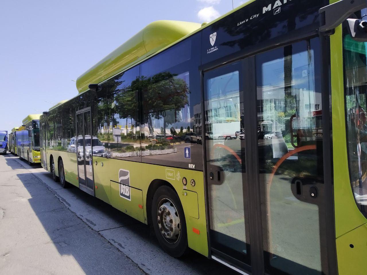 Как выглядят автобусы, которые мэрия Кишинева закупила для пригородов (ФОТО)
