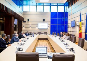 Гречаная встретилась сделегацией предвыборной миссии ПАСЕ