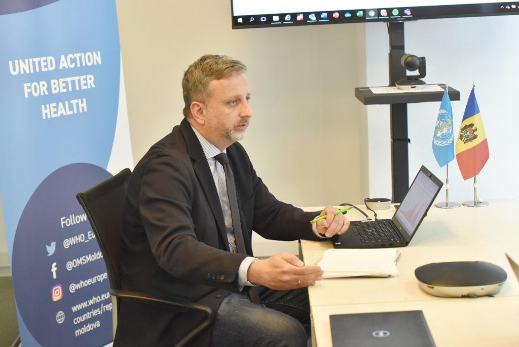 Молдову ждет новая вспышка ковида? Интервью NM с главой офиса ВОЗ в Молдове