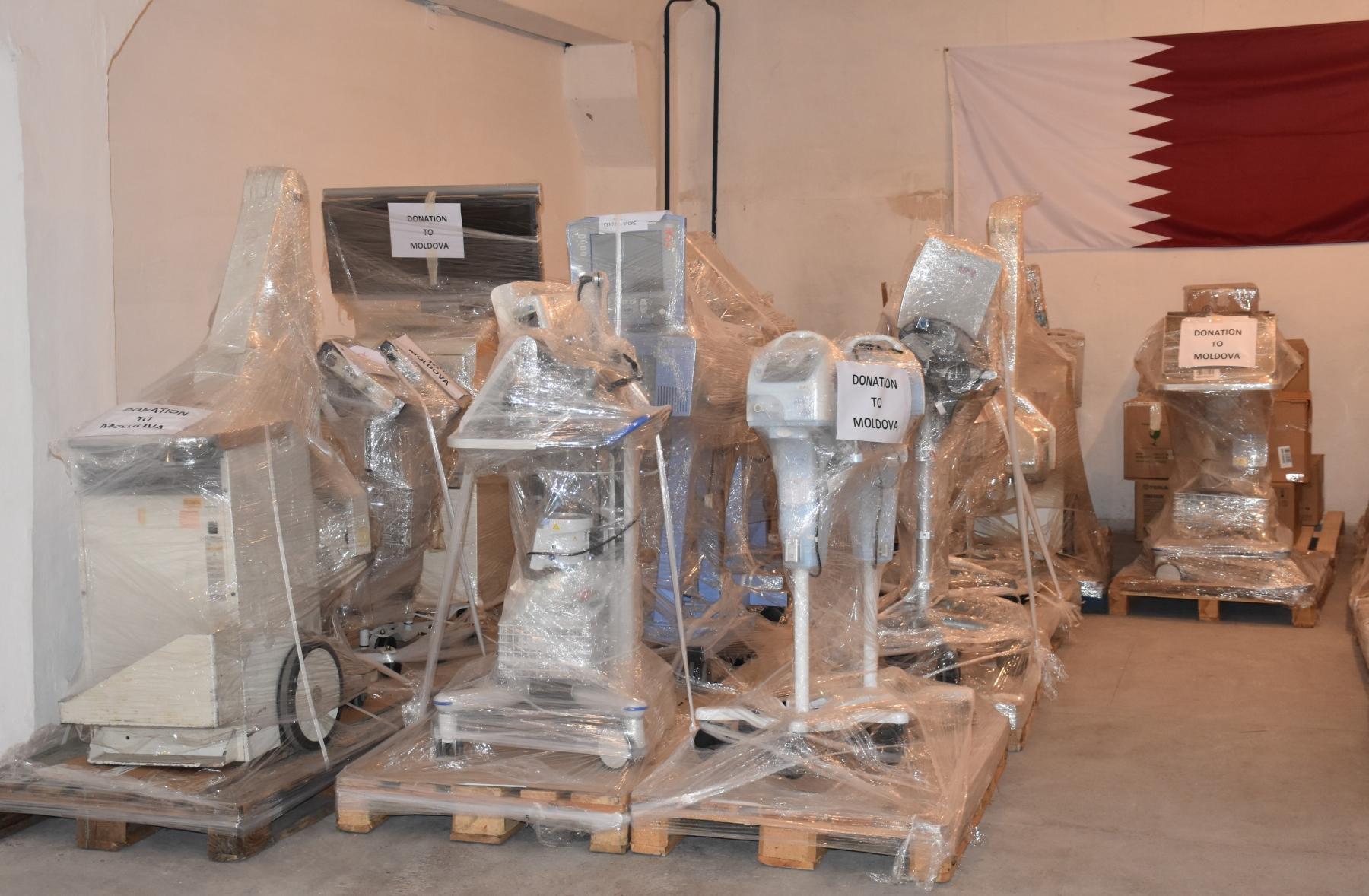 Катар предоставил Молдове 20аппаратов ИВЛ идругое оборудование для лечения больных коронавирусом