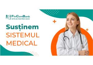 FinComBank acordă sprijin sistemului medical din Republica Moldova