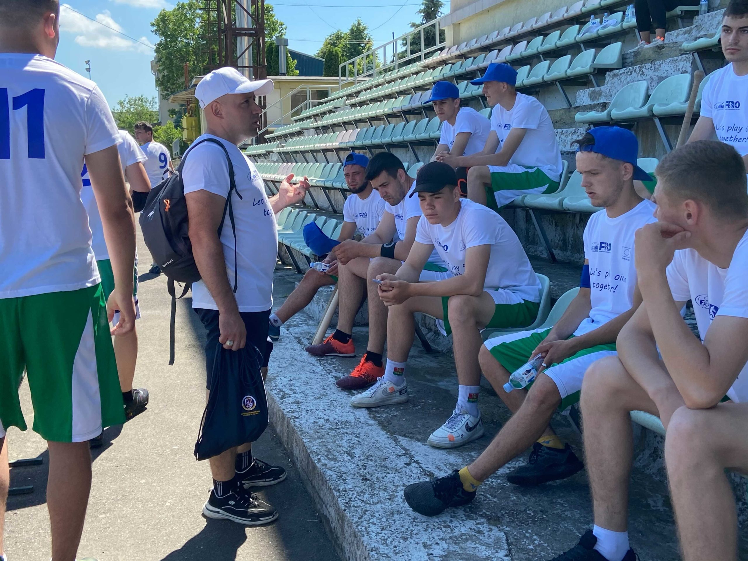 Послы ЕСпровели матч порумынской ойне (ФОТО/ВИДЕО)