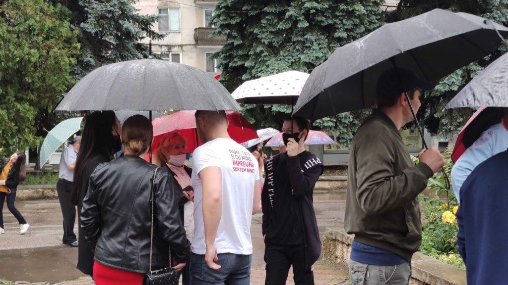 """""""Ne destrăbălează creierul"""". La Bălți urma să aibă loc un marș """"pentru valorile tradiționale"""", însă a fost amânat (FOTO)"""
