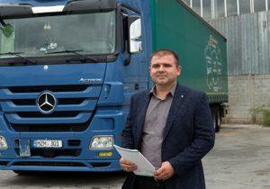 """Igor Rusnac, antreprenor: """"Ca să pui bazele unei afaceri de succes în transporturi internaționale trebuie să începi ca simplu șofer de camion"""""""