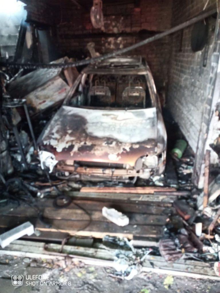 В дачном поселке на севере Молдовы произошел пожар (ФОТО)