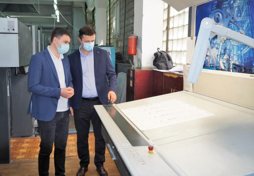 A început tipărirea buletinelor de vot pentru alegerile parlamentare anticipate (FOTO)