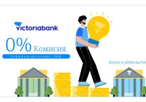 Поддержка малого и среднего бизнеса: 0% комиссии от Victoriabank по рефинансированию кредитов