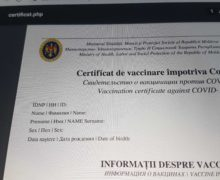 В Молдове тестируют платформу для выдачи электронных сертификатов о вакцинации от коронавируса