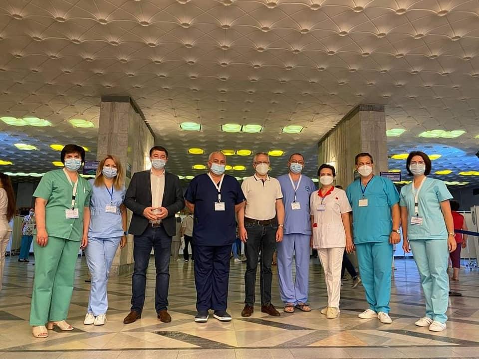 ВКишиневе проходит второй этап марафона вакцинации препаратом «Спутник V» (ФОТО)