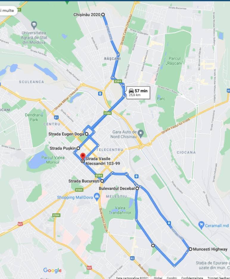 ВКишиневе поулице Колумна запустили троллейбусный маршрут (ФОТО)