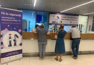 În incinta Aeroportului Chișinău a fost constituit un punct de vaccinare. Ce seruri sunt disponibile?