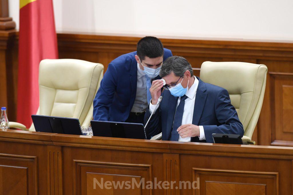 Копперфильд и«щедрый» Боля. Как парламент выбирал руководство (ФоторепортажNM)