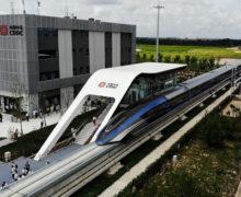 В Китае показали новый поезд, который может стать самым быстрым в мире (ВИДЕО)