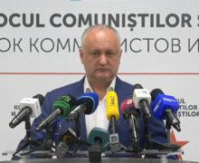 Додон отказывается от депутатского мандата. Он может стать почетным председателем ПСРМ