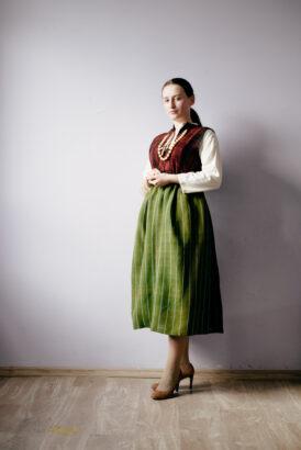 Лидия Тодиева - модельер, который восстанавливает национальный гагаузский костюм
