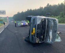 ВОргеевском районе автомобиль столкнулся срейсовой маршруткой