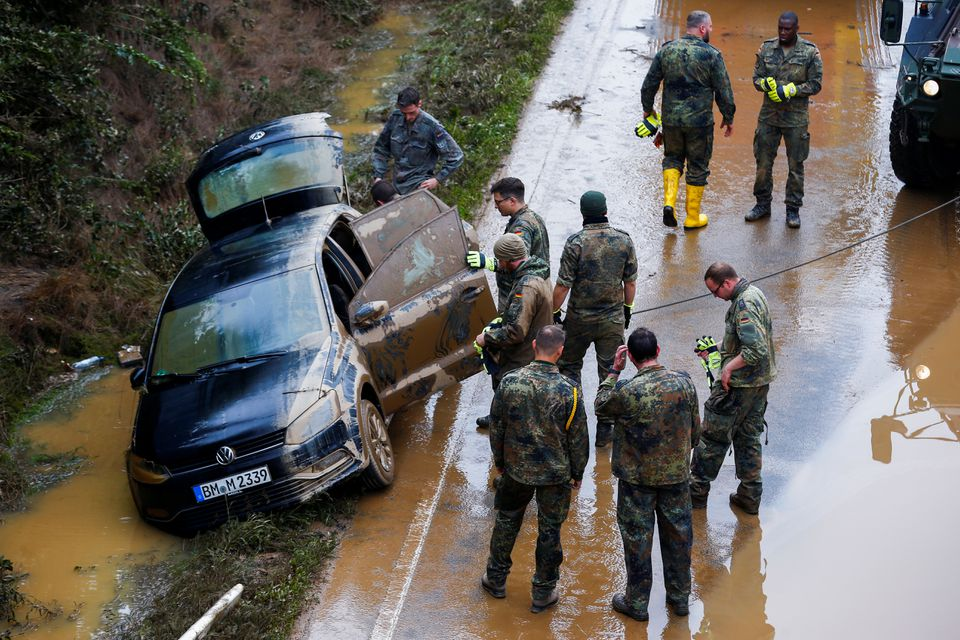 В Европе число жертв наводнений превысило 150 человек. Сотни человек пропали без вести (ФОТО/ВИДЕО)