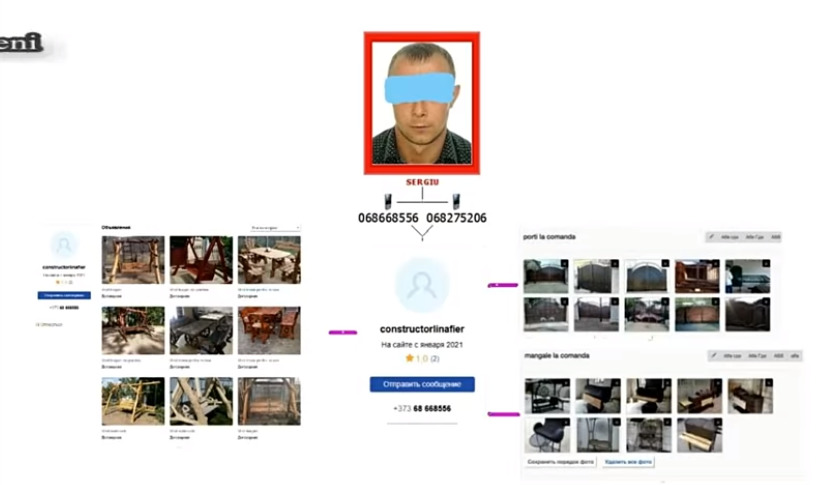 ВМолдове задержали подозреваемого вмошенничестве спомощью мессенджеров исайтов объявлений