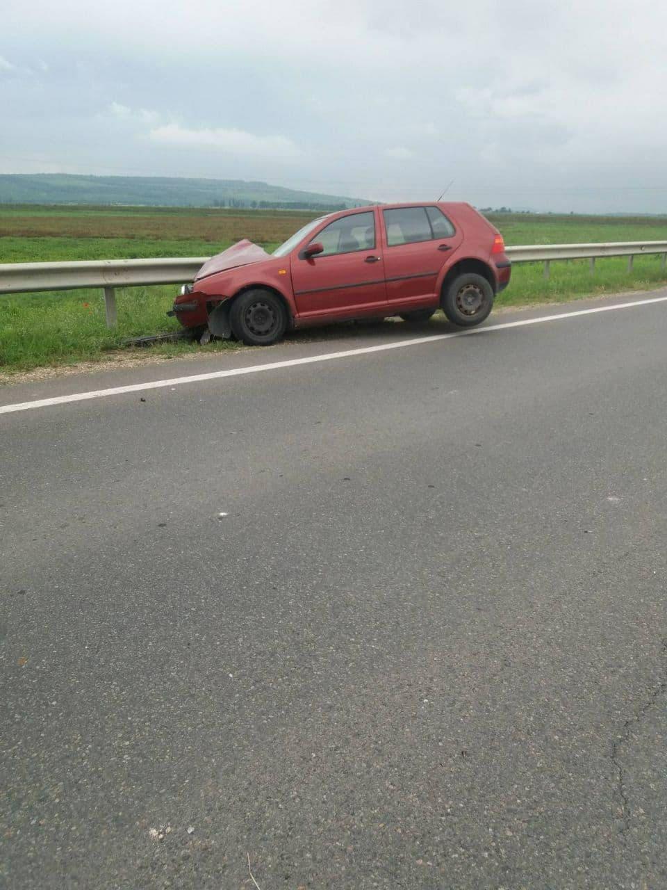 ВОргееве произошла авария. Пострадал один человек (ФОТО)