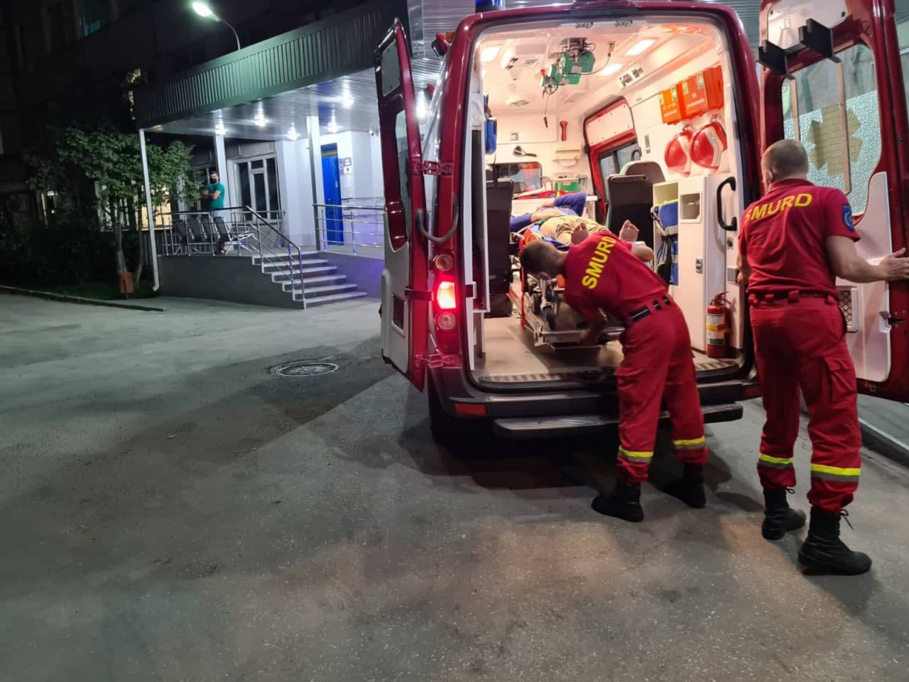 SMURD доставил депутата Оазу Нантоя вБольницу скорой помощи (ФОТО)
