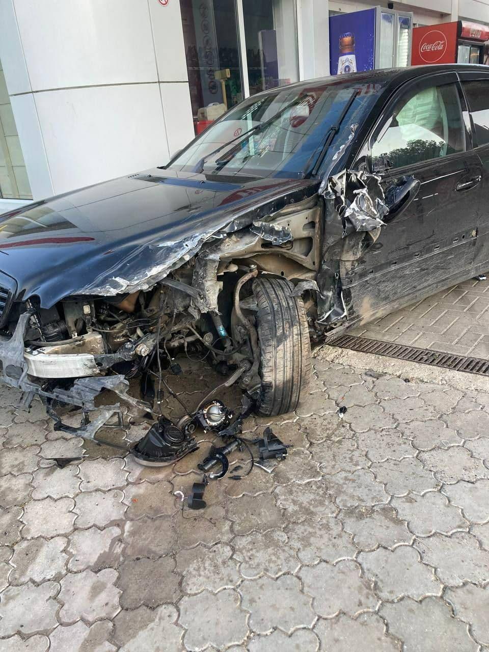 Accident cu implicare unui microbuz de pe ruta Orhei-Chișinău. Șase persoane, transportate la spital (FOTO)