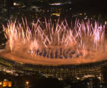 В Токио проходит церемония открытия Олимпийских игр. Онлайн-трансляция