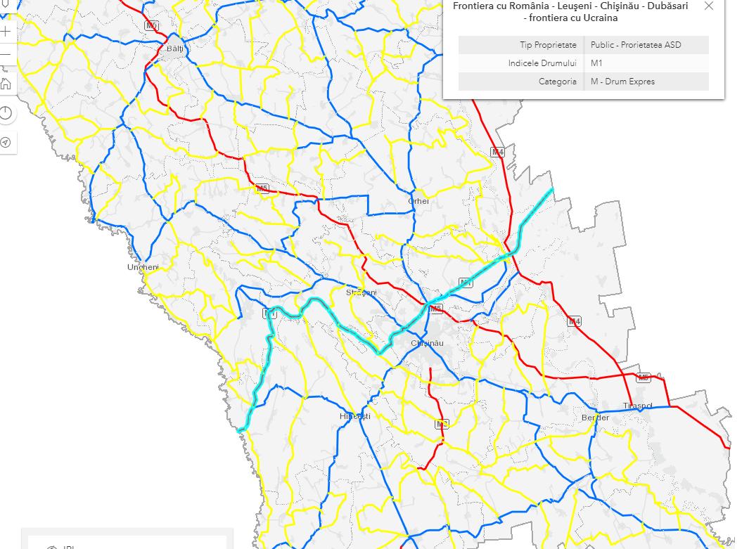 ВМолдове нагод перекроют участок трассы, соединяющей Румынию иУкраину