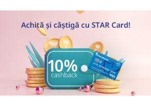 Victoriabank anunță o nouă campanie promoțională pentru utilizatorii STAR Card