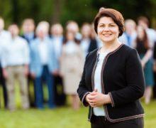 «Молдова в хорошие времена». Кандидат впремьеры Гаврилица опубликовала программу своего правительства