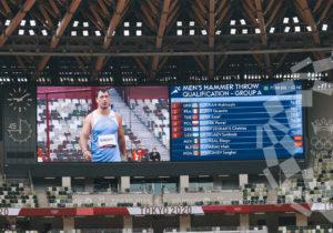Atletul Serghei Marghiev s-a calificat în finala probei aruncarea ciocanului la Jocurile Olimpice de la Tokyo