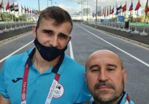 Atletul Andrian Mardare s-a calificat în finala probei de aruncare a suliței
