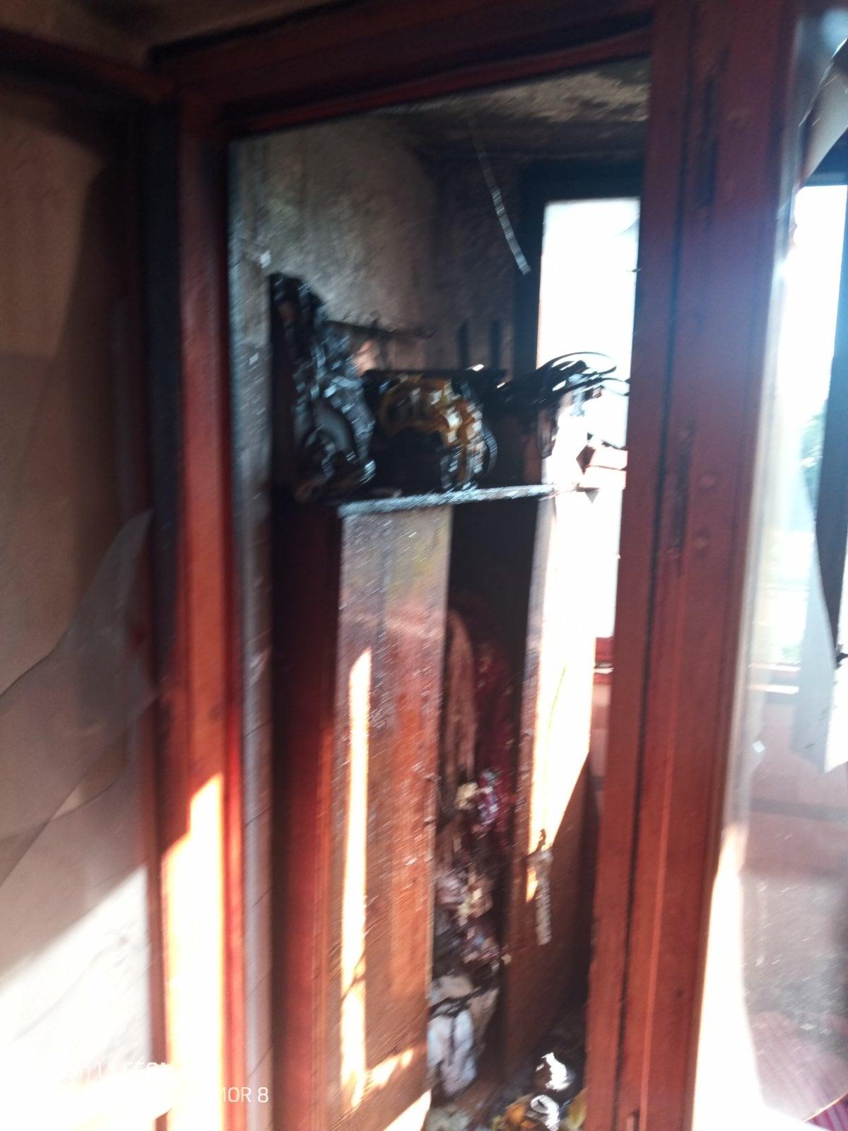 ВКишиневе вжилом доме произошел пожар (ФОТО)