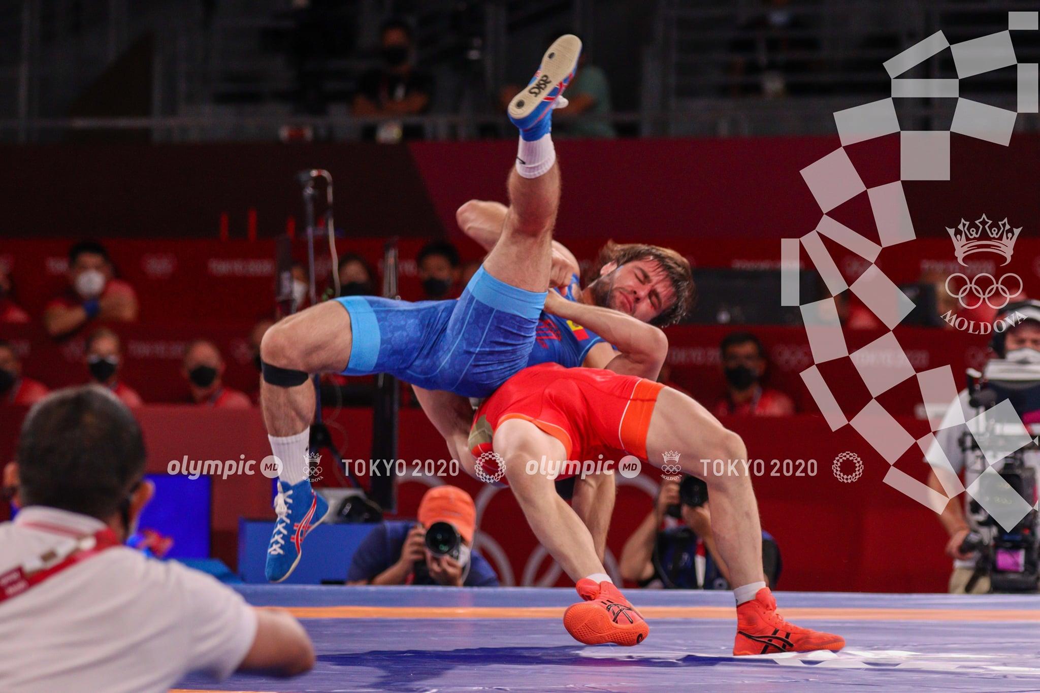 Молдавский борец занял 5 место на Олимпийских играх в Токио. Пока это лучший результат Молдовы