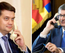 Igor Grosu a discutat la telefon cu președintele Radei Supreme a Ucrainei și cu cel al Camerei Deputaţilor Parlamentului României