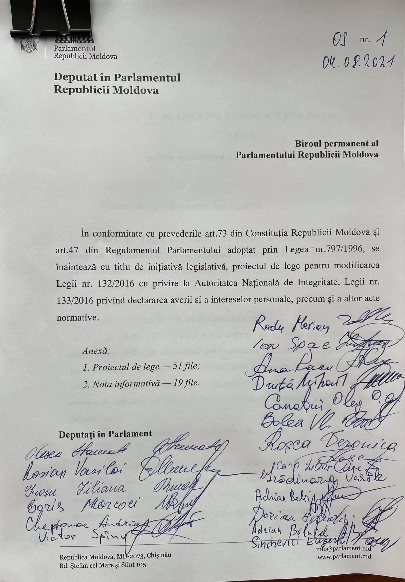 PAS a înregistrat prima inițiativă legislativă în noul parlament. Vizează activitatea ANI