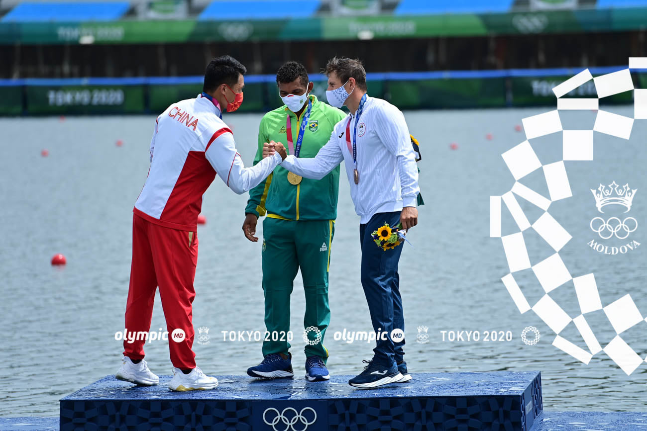 Спортсмен изМолдовы Сергей Тарновский завоевал бронзу наОлимпийских играх вТокио