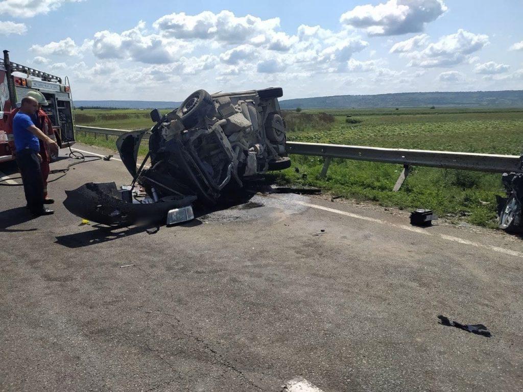 ВОргеевском районе произошла авария. Один человек погиб (ФОТО)