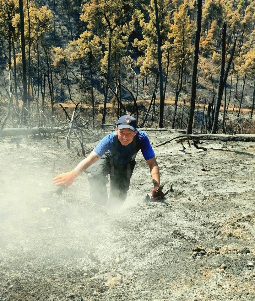 Pompierii moldoveni își continuă misiunea în Grecia. 106 focare de ardere, lichidate în ultimele 24 de ore (FOTO)