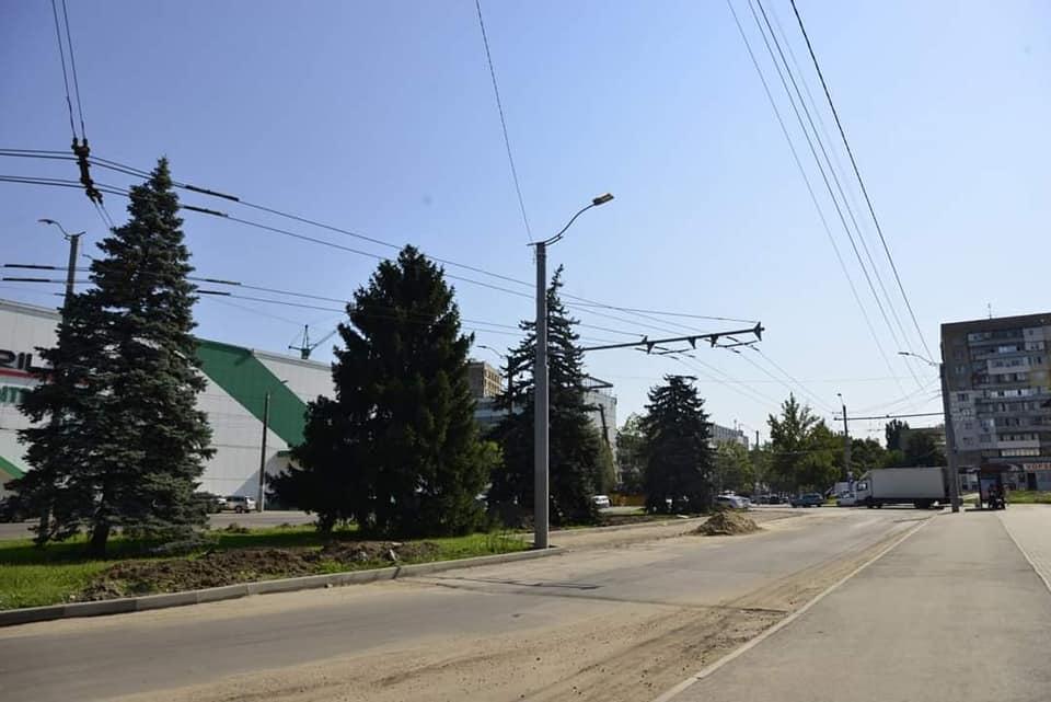 ВКишиневе возле парка Alunelul обустроят парковку на40мест