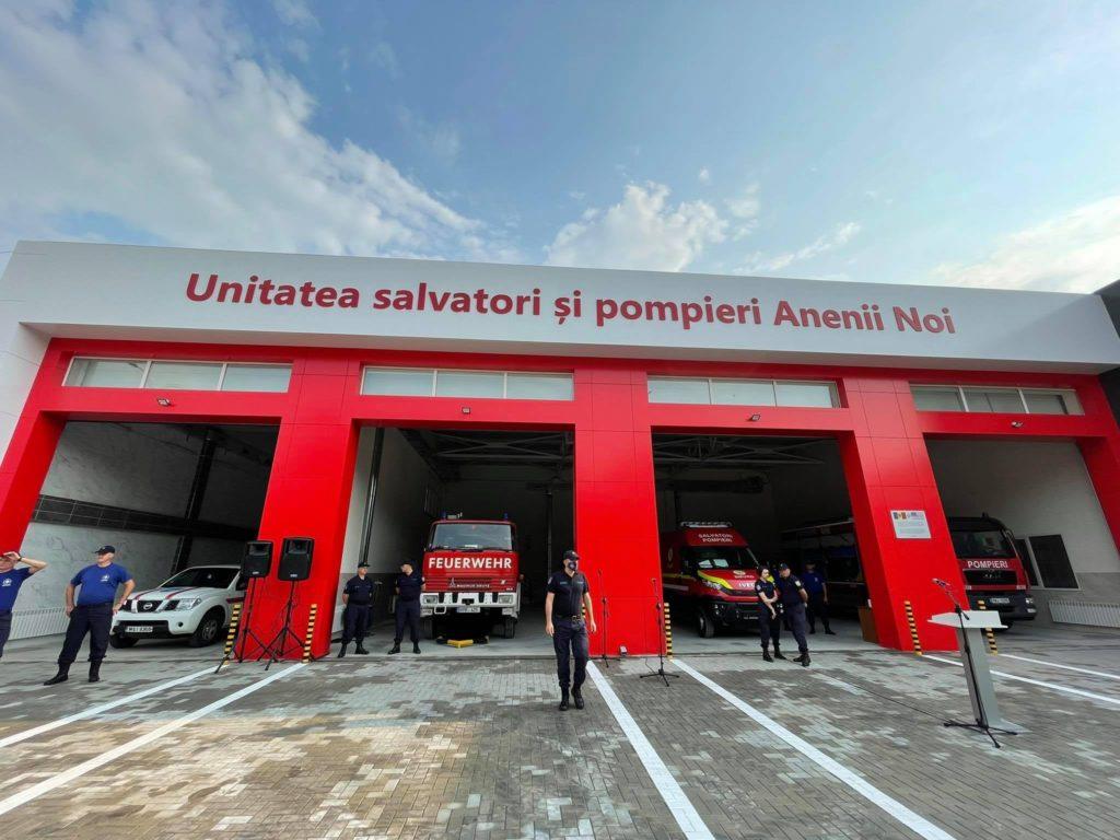 În orașul Anenii Noi a fost inaugurată o unitate de salvatori și pompieri (FOTO)