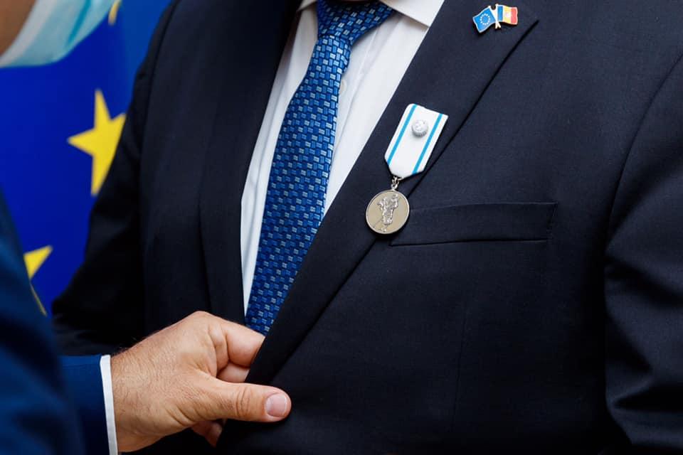 Michalko a fost apreciat cu cea mai înaltă distincție a Ministerului Afacerilor Externe și Integrării Europene