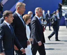 «Сегодня мыубедились, что уМолдовы есть настоящие друзья». Санду, Йоханнис, Зеленский иДуда выступили сзаявлениями (ВИДЕО)